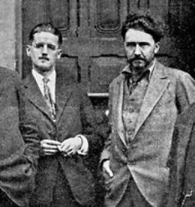 James Joyce _Ezra Pound