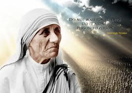 Nënë Tereza shpirt-tendosur