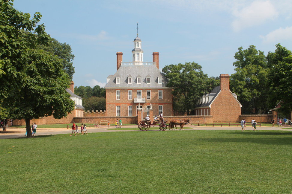 Colonial Williamsburg, Virginia, is part of the fundamentally conservative Tidewater nation.