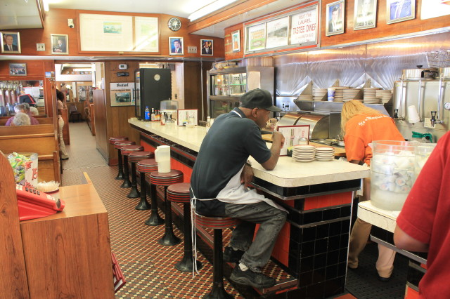 The Tastee Diner in Bethesda, Maryland has been feeding customers since 1935.