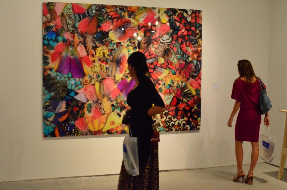Art Miami, Dec. 2014, Miami, Florida (Elizabeth Pfotzer/VOA)