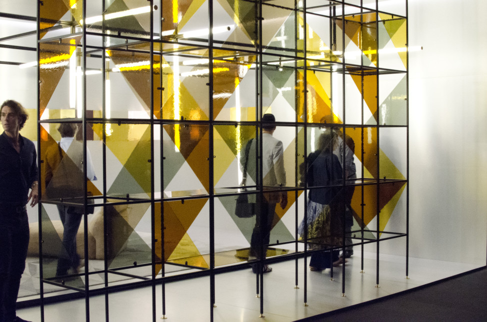 Fendi design, Miami 2014 exhibit. (Elizabeth Pfotzer/VOA)