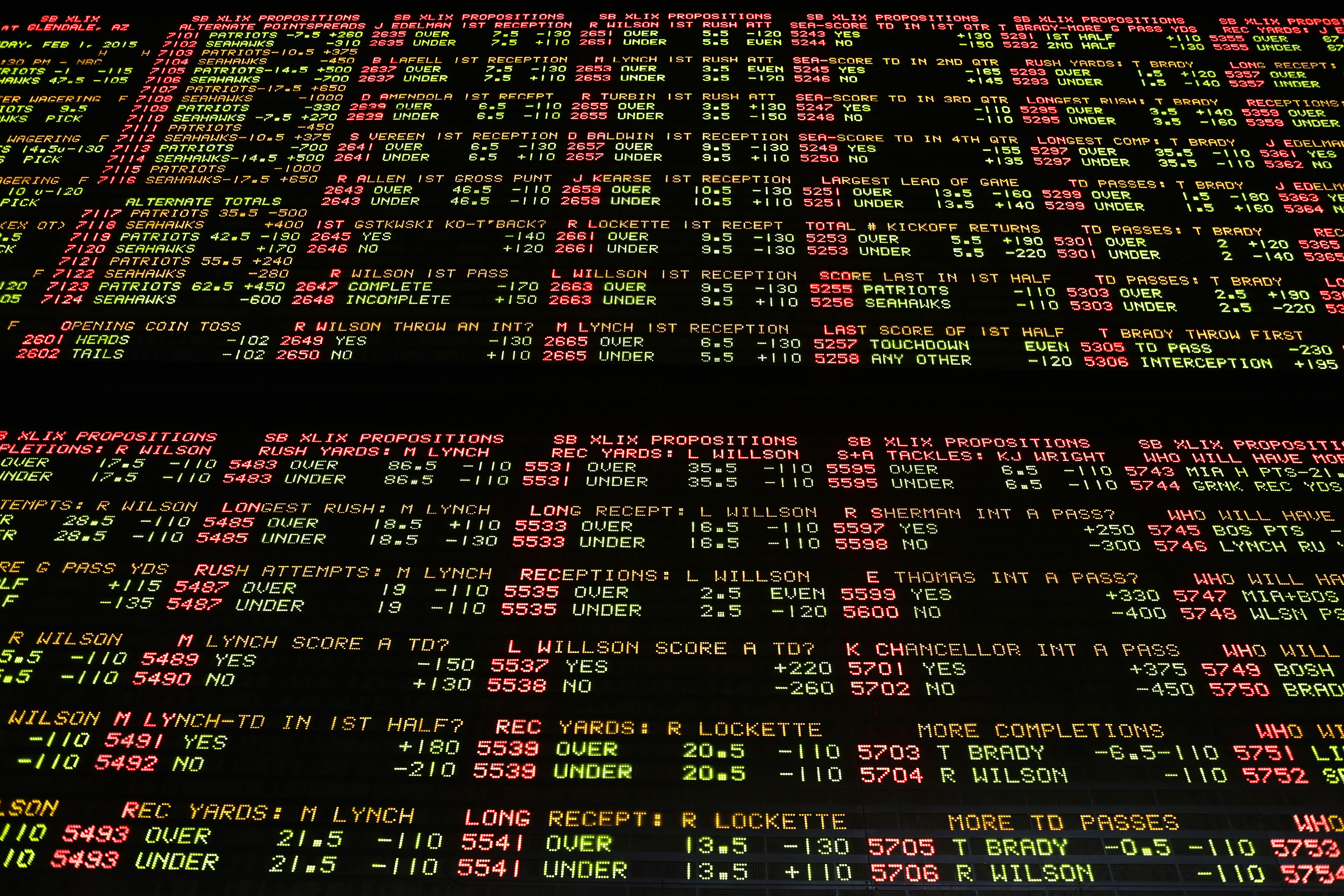 biggest sportsbook in vegas super bowl betting game ideas
