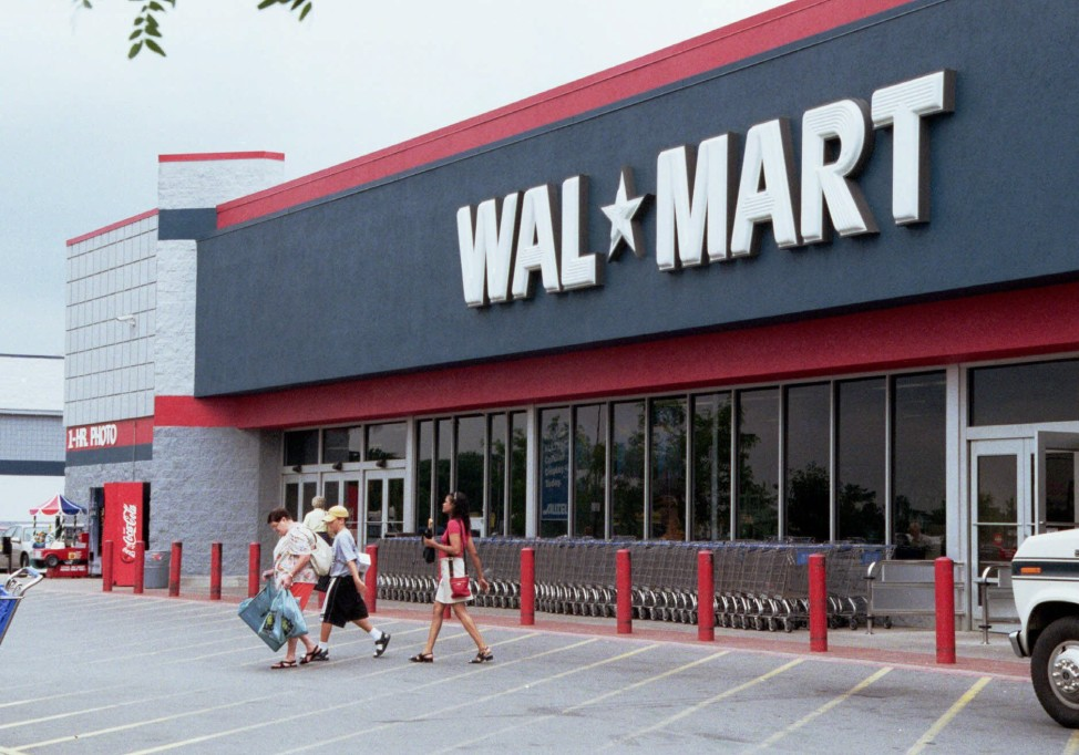 File - Americans spent  $4,273,980,560.84 at Wal-mart, the large discount department store, in 2014. (AP Photo)   $53.31