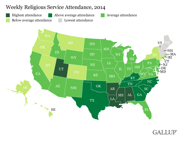 Utah Vermont on Opposite Ends of US Religion Spectrum All About