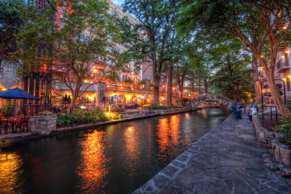 Riverwalk in downtown San Antonio, Texas. (Brandon Watts via Flickr)