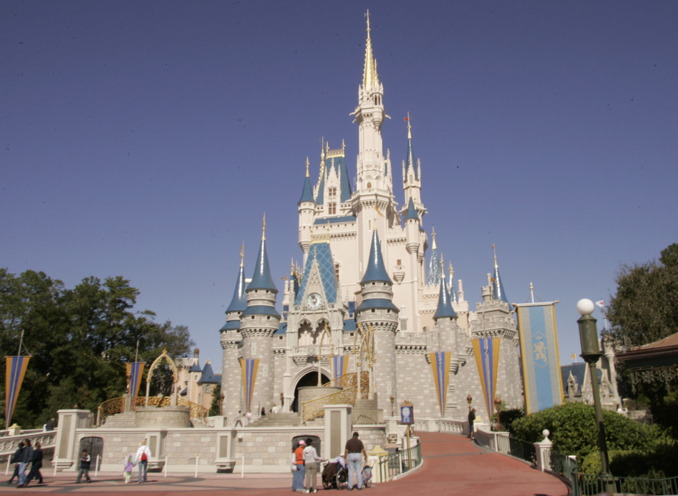 Cinderella's Castle at Walt Disney World's Magic Kingdom in Lake Buena Vista, Florida. (AP Photo)