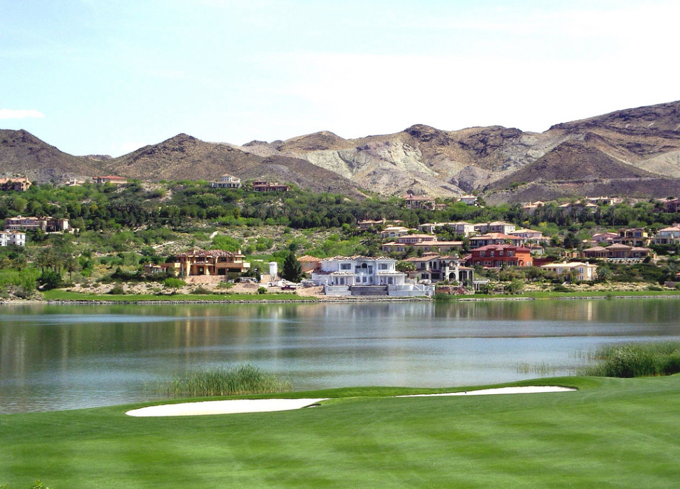 Lake Las Vegas, Henderson, Nevada (Photo by Robert Ciavarro via Flickr)