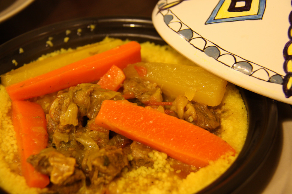 More Americans are interested in sampling Moroccan food, such as this platter of couscous. (Photo by hjw223 via Flickr)