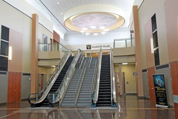The Vanderbilt University Medical Center is located in what was once the One Hundred Oaks Mall (Photo courtesy Vanderbilt University)