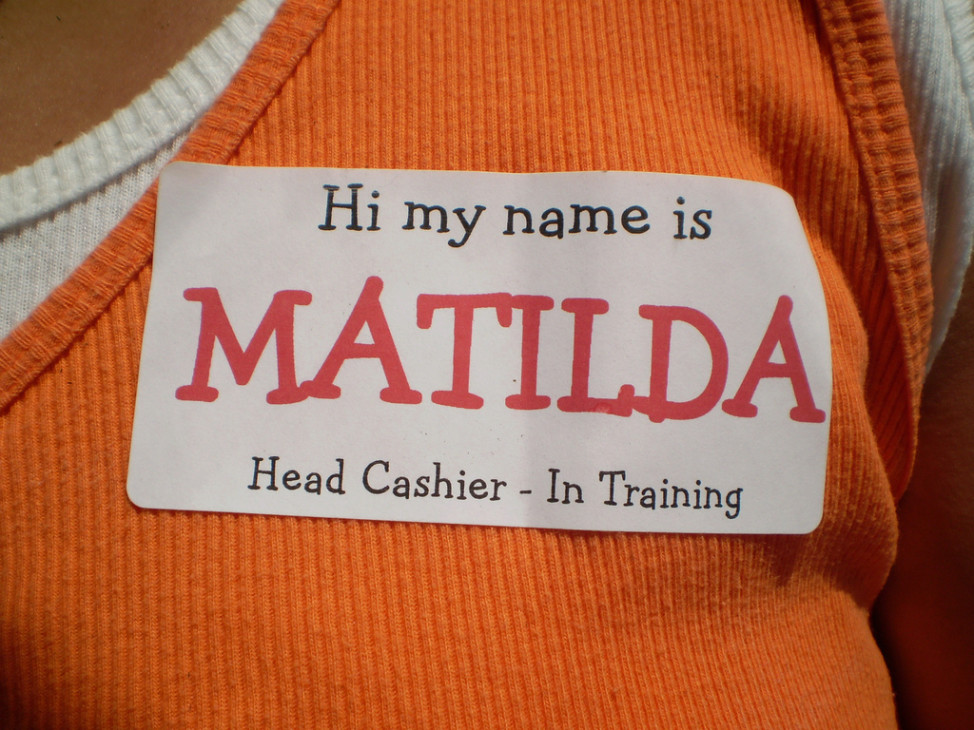 The median living girl named Matilda was born around 1966 and ranges in age from 8 to 73 years old, according to Randy Olson's name-age calculator. (Photo by  EvelynGiggles via Flickr)