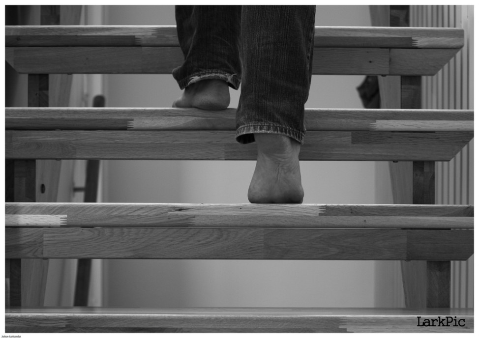 One of the most commonly reported disabilities in the United States is difficulty walking up and down the stairs. (Photo by Flickr user Johan Larkander via Creative Commons license.)