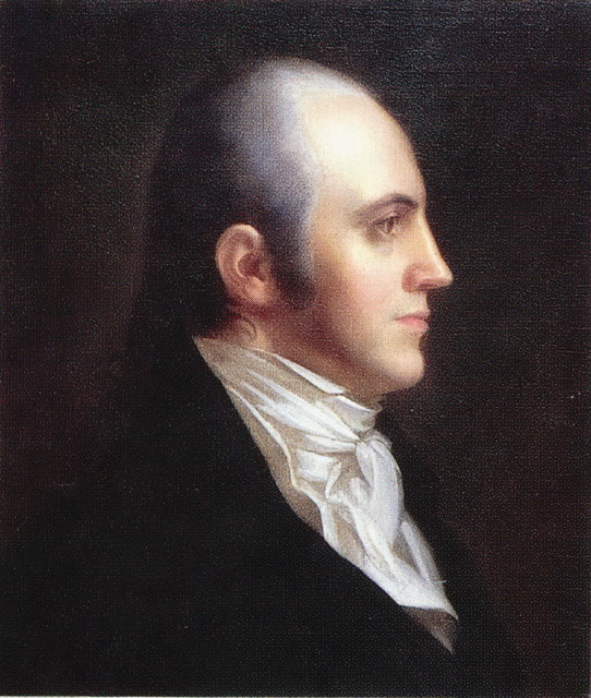 """Aaron Burr-2"" from the New York Historical Society - The World Book of Knowledge. (Licensed under Public Domain via Wikimedia Commons)"