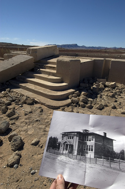 Wild West Ghost Town Emerges from Watery Grave – All About America