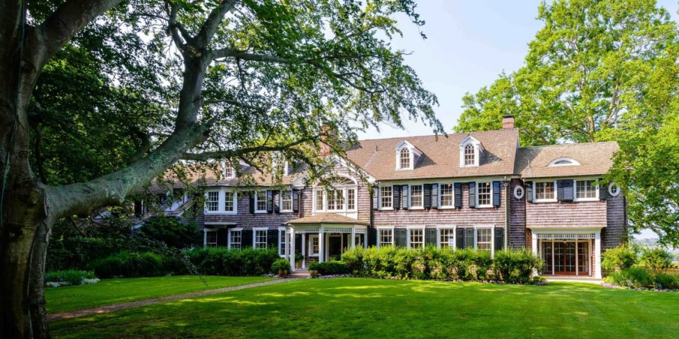 "Built in the 1930s, ""Briar Patch,"" in East Hampton, New York, is the second-most expensive home for sale in the United States at $140 million. (Courtesy of Christie's International Real Estate)"