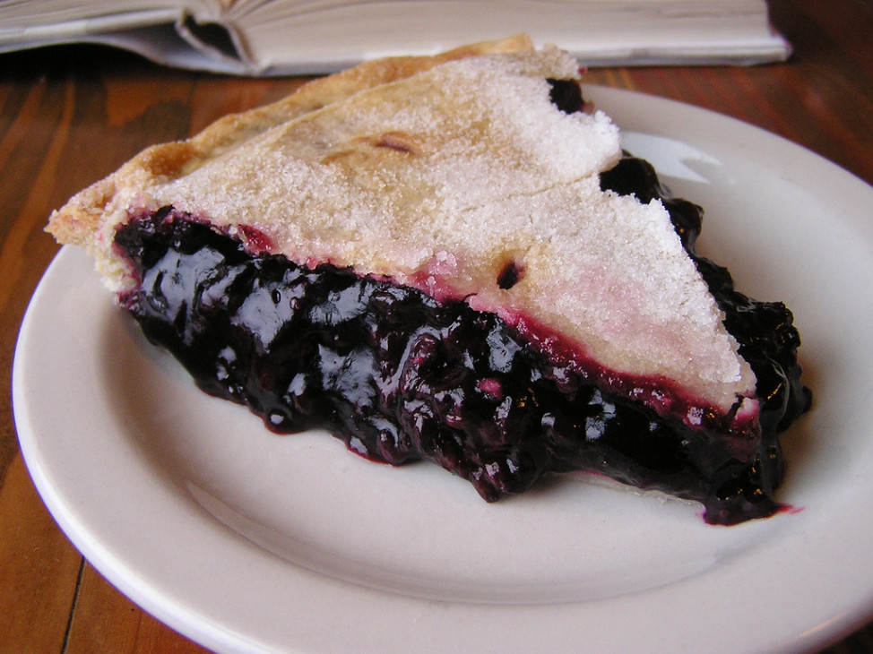Marionberry pie (Photo by Flickr user Chelsea Nesvig via Creative Commons license)