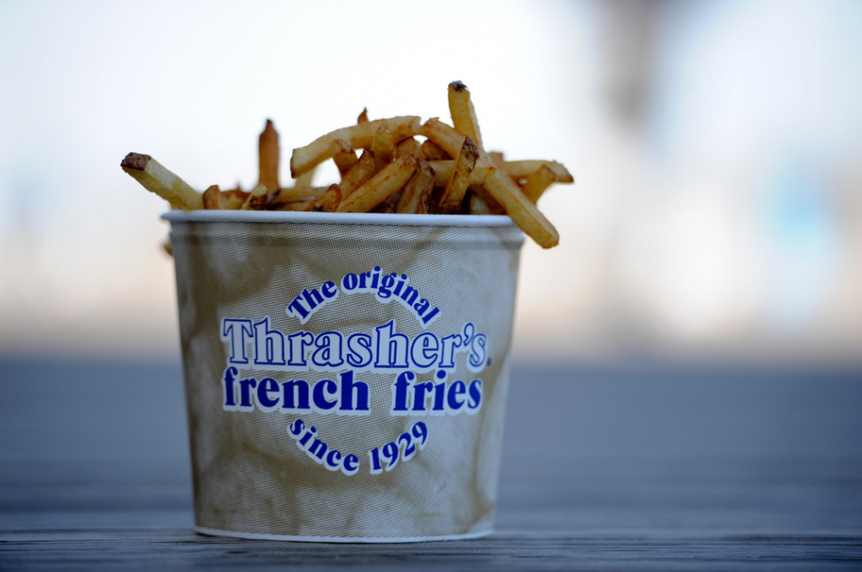 Thrasher's fries (Photo by Flickr user bigbirdz via Creative Commons license)
