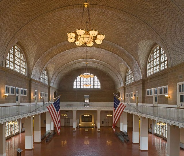 "Ellis Island Registry Building  from ""Interior Landmarks: Treasures of New York"" (Courtesy The Monacelli Press)"