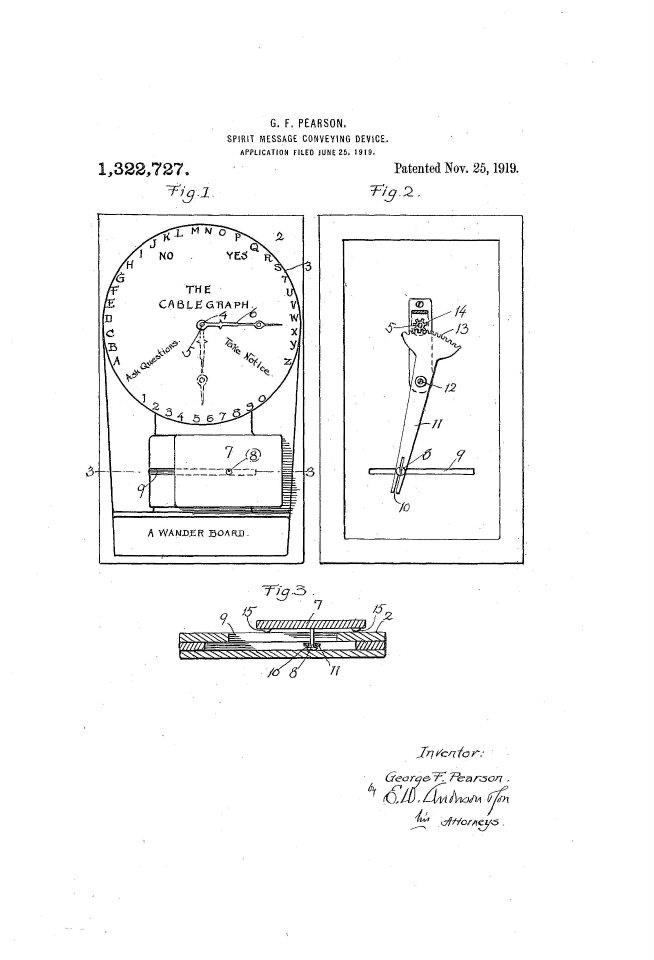 Spirit Message Conveying Device