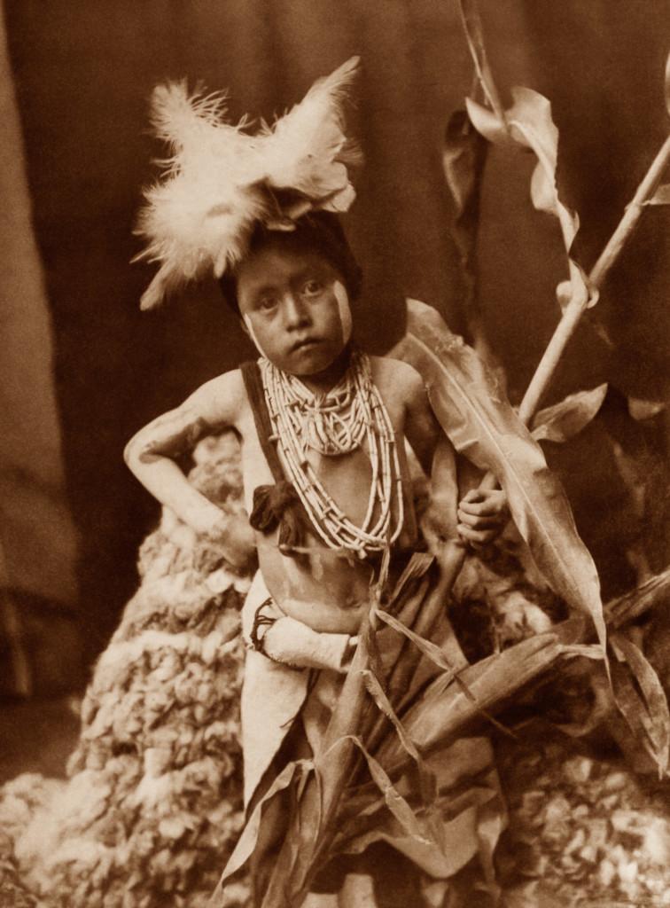 Awaiting the Return of the Snake Racers, Hopi, 1921, Southwest (Photo by Edward S. Curtis, courtesy DelMonico Books • Prestel)