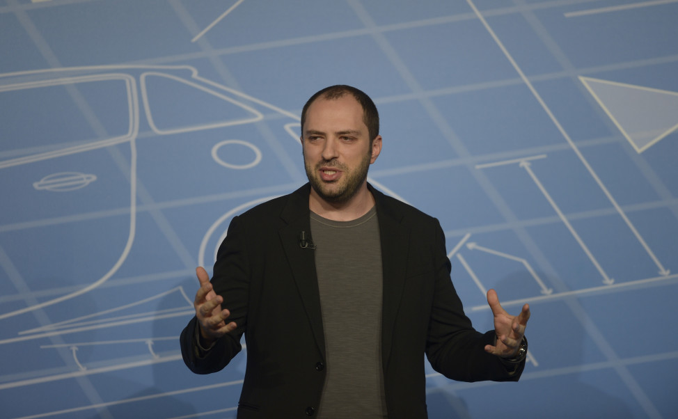 WhatsApp co-founder Jan Koum was born outside of Kiev, Ukraine. (AP Photo)