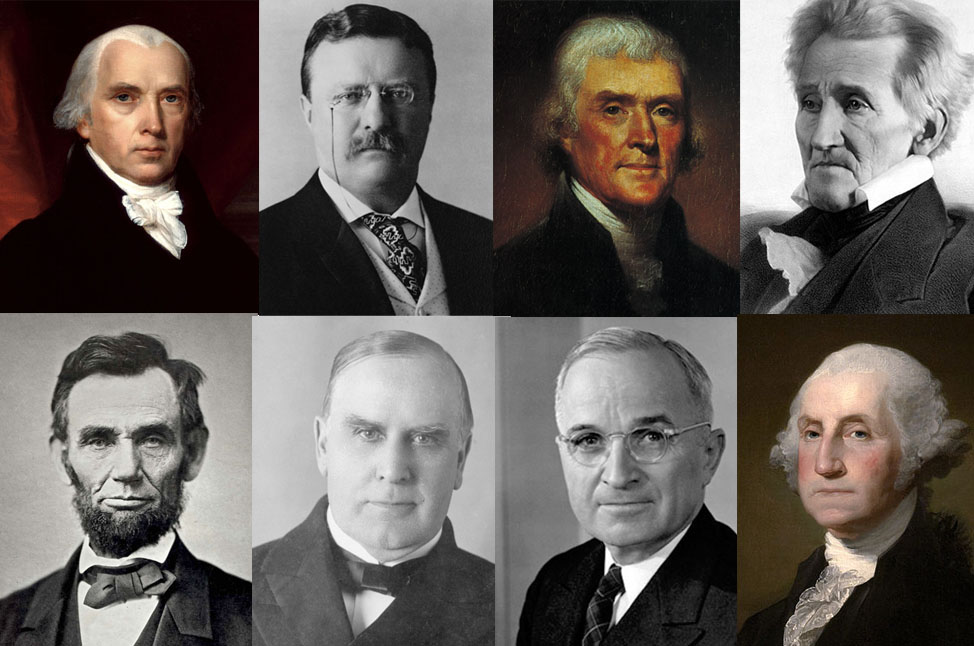 American Presidents Composite