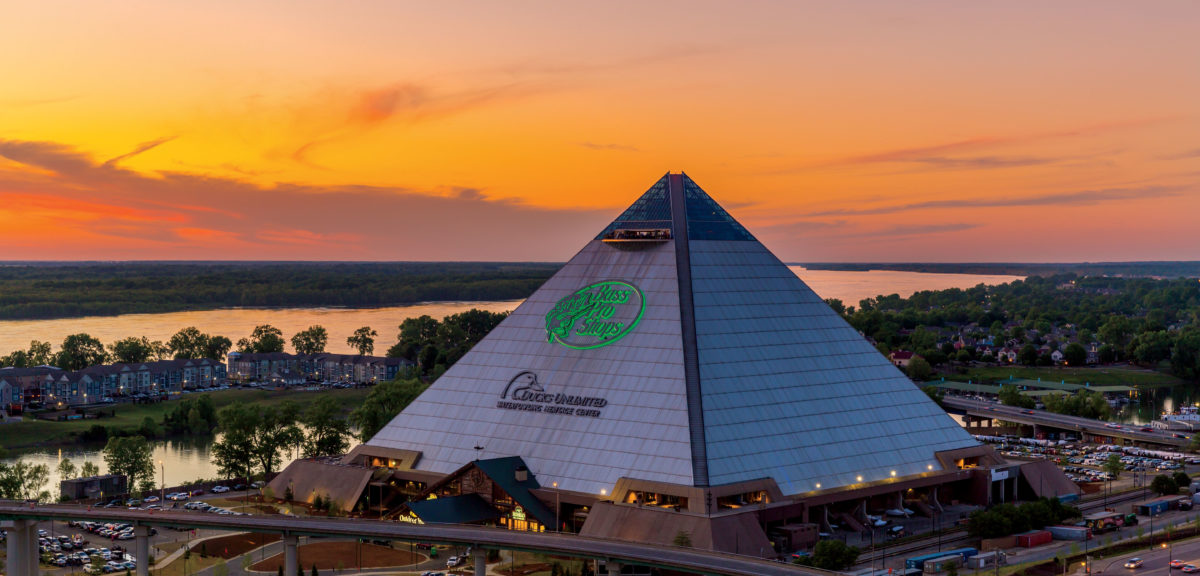 B Pro S Has Drawn Roughly 3 Million Visitors To Its Pyramid Complex Of Restaurants Retail Cypress Swamp And Other Attractions In Memphis
