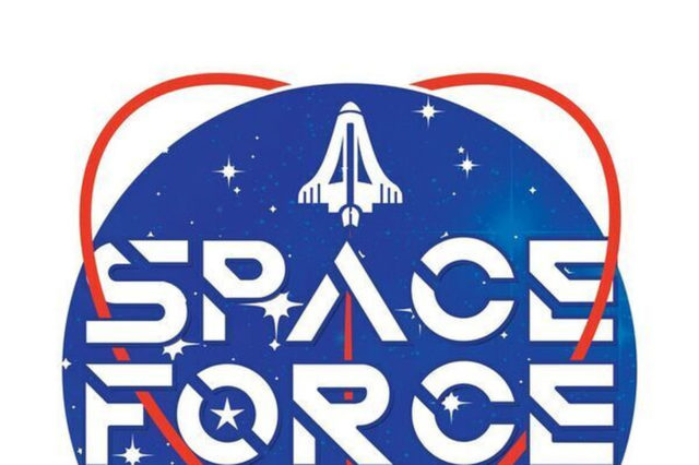a us space force might fly  but forget about battling us air force logo vector air force logo vector art