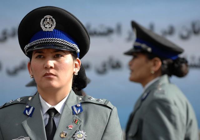 Afghan-Police-Women