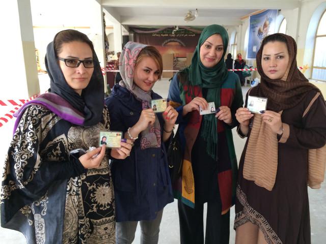 Afghan-Women-Vote