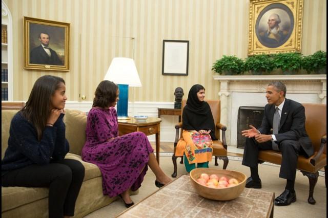 Malala-Obama