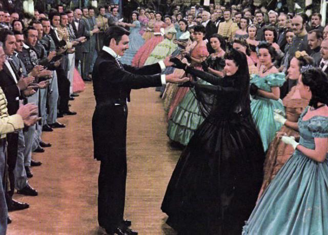 Scarlett-O'Hara-Black-Dress