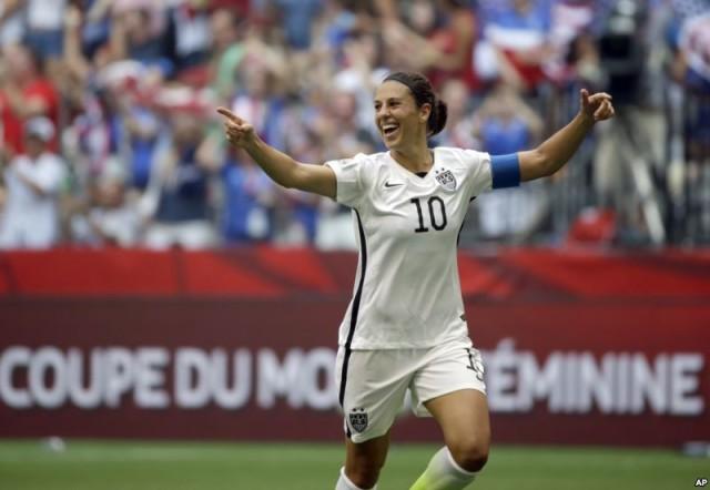 ABŞ-ın futbol üzrə qadınlardan ibarət milli yığmasının oyunçusu Karli Lloyd