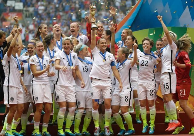 ABŞ-ın futbol üzrə qadınlardan ibarət milli yığması