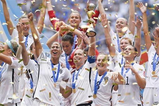 ABŞ-ın futbol üzrə qadınlardan ibarət milli yığması dünya jubokunu qazanıb