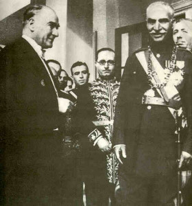 Reza Shah - Kemal Ataturk 3