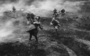 Verdun şəhəri uğrunda gedən döyüşlərdə bir milyona yaxın adam tələf oldu.