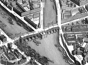 Pont Neuf körpüsünün inşası müasir Parisin başlanğıc nöqtəsi sayılır.