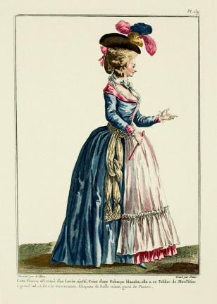 Paris geyimləri dünya eıitasının moda standartına çevrilmişdi.
