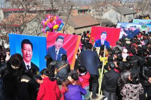 Çinlilər Yaponiya ilə mübahisəli adalarla bağlı nümayişdə Çin Kommunist Parityasının rəhbəri Şi Cinpinqin portretlərini tutublar.