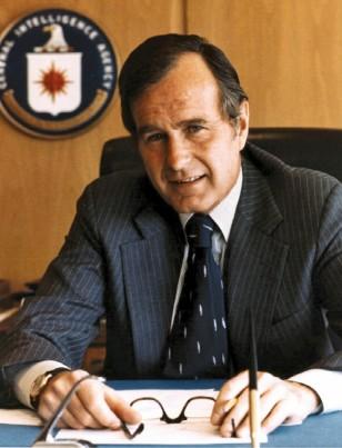 Mərkəzi Kəşfiyyat Agentliyinin (CIA) rəhbəri olaraq Corc Buş agentlikdə köklü islahatlar apardı.