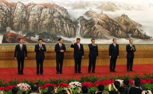 Çində Politbüronun yenicə seçilmiş üzvləri