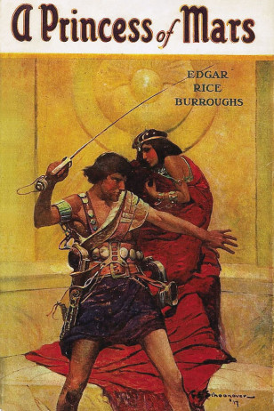 Cover of First Printing of A Princess of Mars