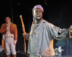 Jaymes Jorsling and Rafael De Mussa in Benito Cereno - Photo: Richard Termini for Horizon Theatre Rep (Courtesy Photo)