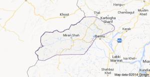 Waziristan Bannu Map