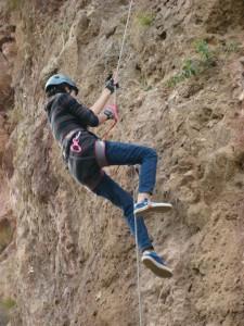 Nazia Rock Climbing 2