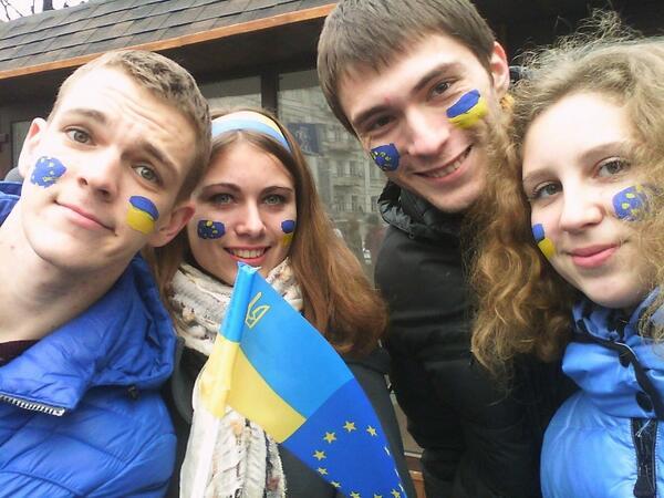 უკრაინის ახალგაზრდობა, რომელიც საკუთარ მომავალს ევროკავშირში ხედავს, საპროტესტო აქციის ხერხემალია