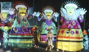 Salah satu festival tahunan seni dan budaya Betawi di Jakarta (foto: VOA).