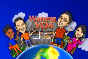 Acara 'Warung VOA' ditayangkan setiap hari Minggu sore di JTV.