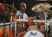 Legendary American drummer Omar Hakim